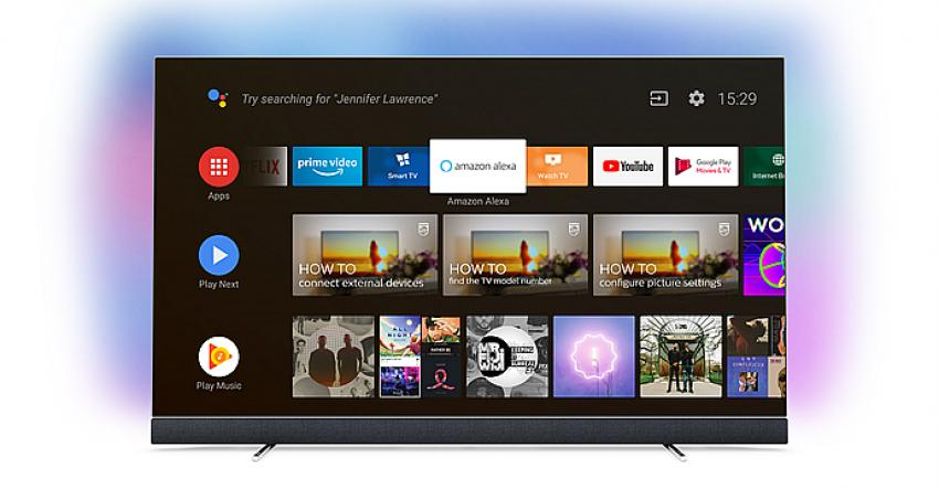 Philips TV'ye Amazon Alexa altyapısı